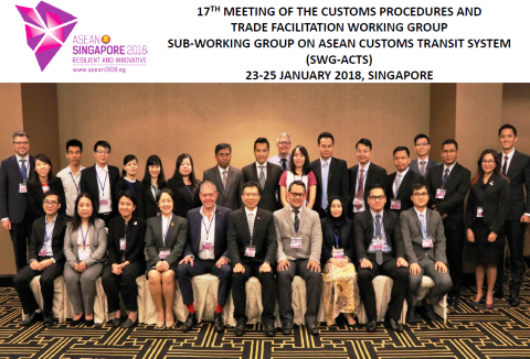 17th SWG-ACTS meeting in Singapore 23-25 jan 2018